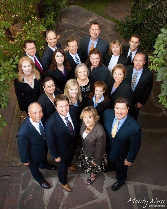 group business portrait outdoor