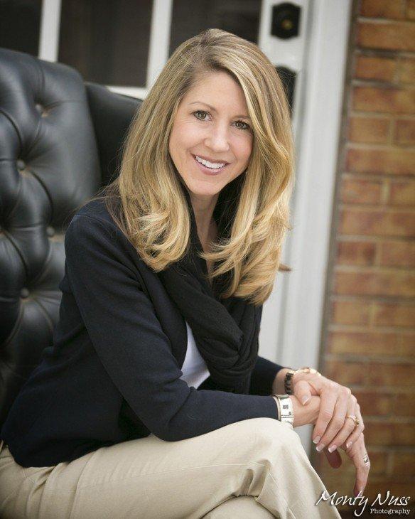 outdoor business portrait woman