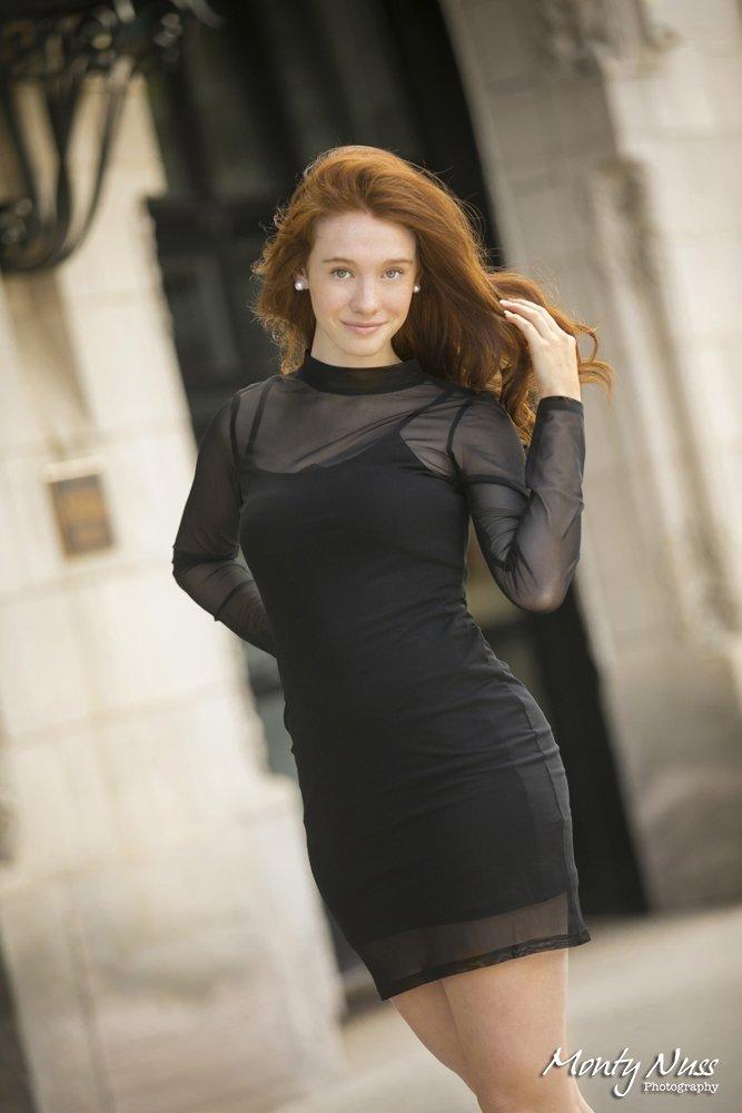 black dress downtown littleton