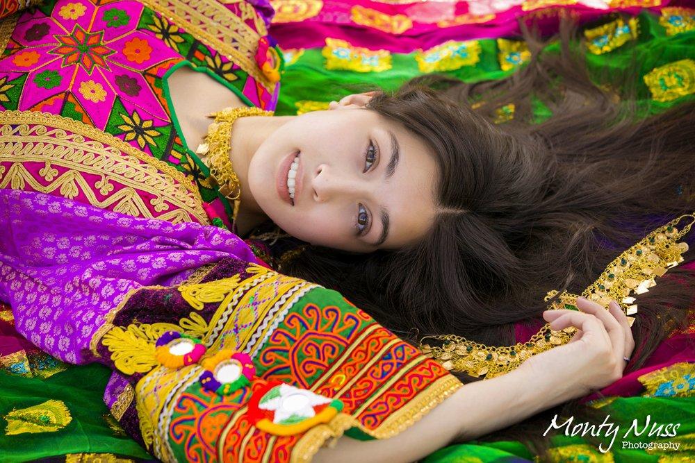 bright colorful senior photography