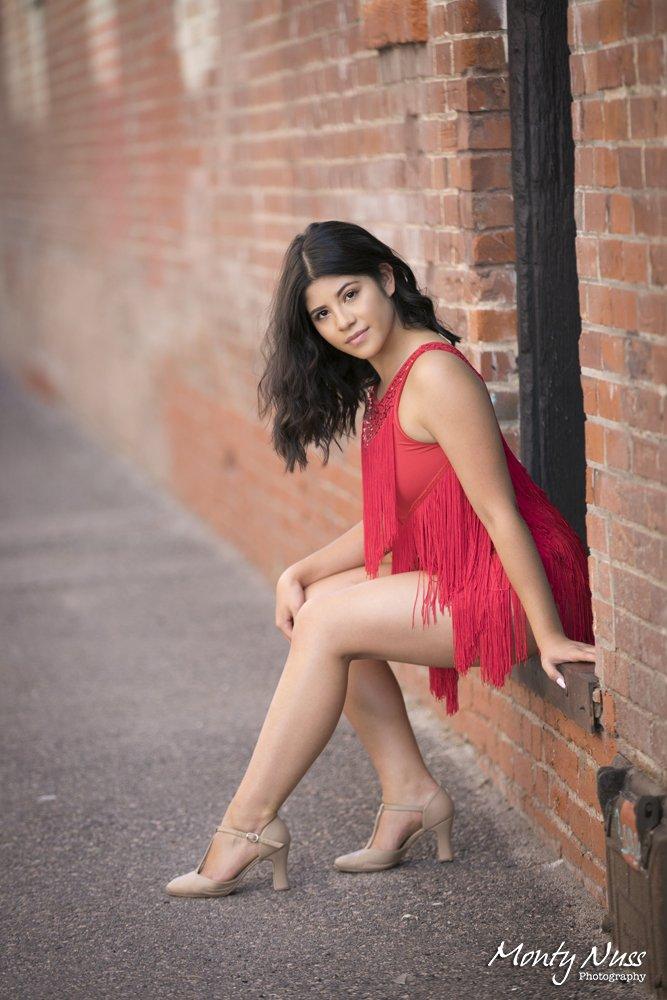 downtown littleton red dress