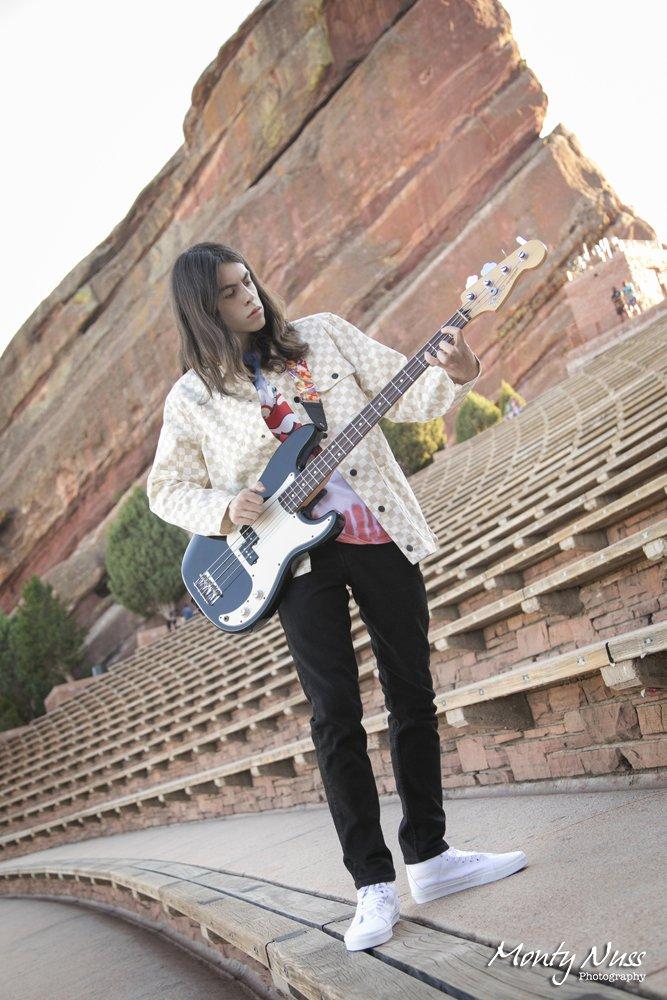 red rocks amphitheater guitar vans senior boy