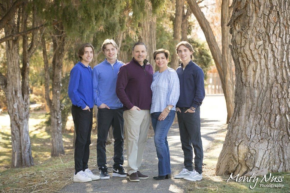 family portrait littleton colorado gallup gardens park